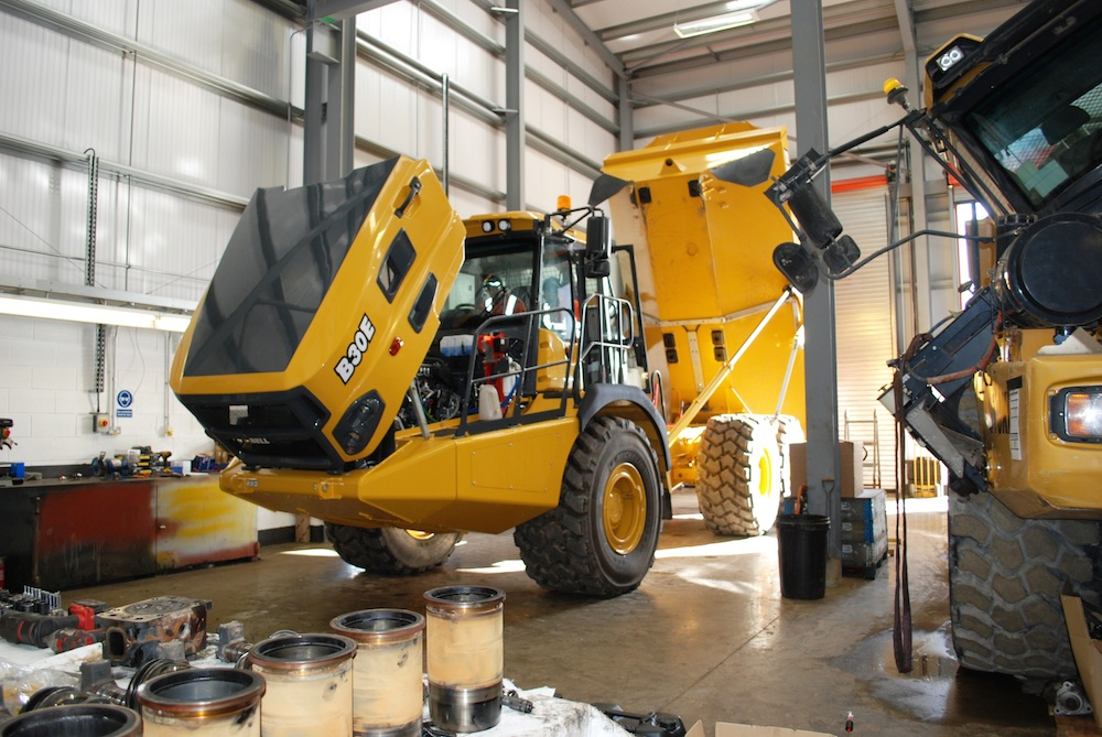 Centralised support for Bell Equipment in Scotland as it brings