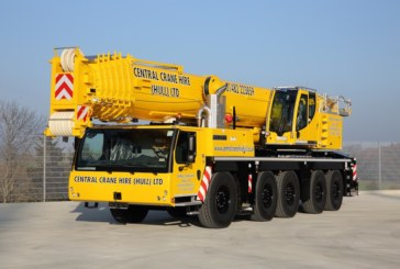 Central Crane Hire (Hull) puts new Liebherr crane to work