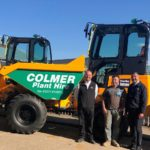 Demand driving dumper investment for Colmer Plant Hire