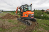 New Stage V versions of Doosan 6 & 8t mini-excavators
