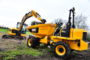 WHC Hire Services switch to JCB for site dumpers