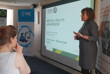 New hire industry training event to promote mental wellbeing at work
