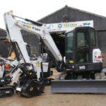 Teevan Hire Orders Close to 100 Bobcat Excavators in UK