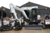 Teevan Hire Orders Close to 100 Bobcat Excavators in UK