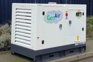 GenAir UK's Emission Free Air Compressor shortlisted in Hire Awards of Excellence