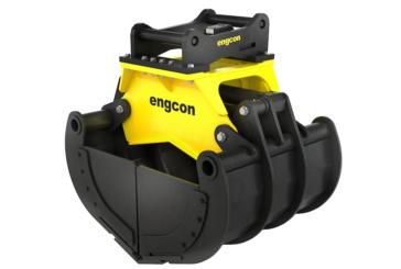 Engcon develops sorting grabs for new generation of tiltrotators and excavators