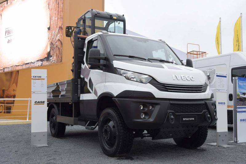 IVECO showcases its wide offer for the construction industry