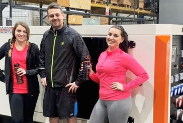 'The Knee Musketeers' – MHM Plant ready to pound the pavements for charity