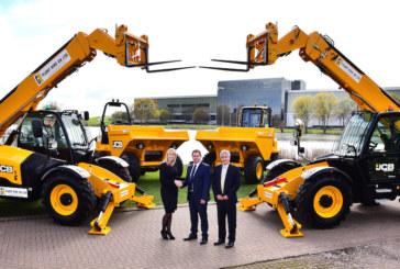 JCB secures multi-million pound Plant Hire UK deal