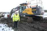 R Tough Plant Hire takes delivery of Volvo EC220E