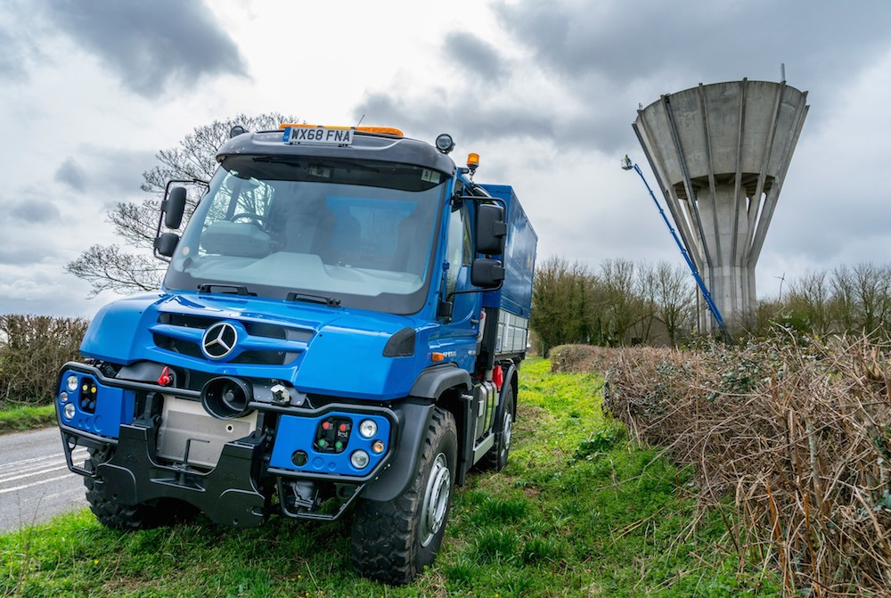 Fletcher Access Cuts Its Overheads With Flexible Mercedes