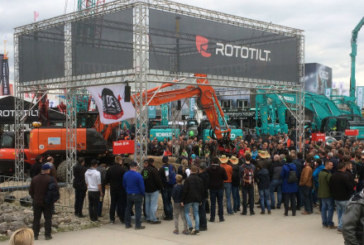 Rototilt taking its place at Bauma, the world's largest construction machinery show