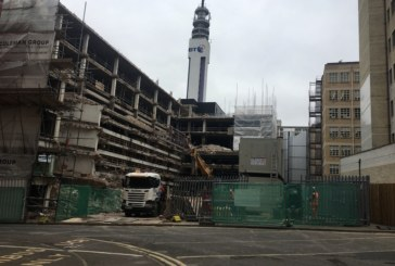 Garic provides compact welfare solution for challenging city centre demolition