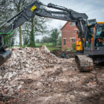 Contrak Construction take delivery of ECR145E excavator