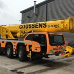 Coussens takes delivery of Demag AC 60-3 and AC 100-4L all-terrain cranes