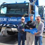 Ellis Crane Hire's third Liebherr crane