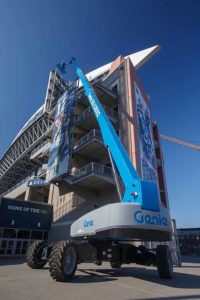 Genie to showcase boom lifts, telematics programme and accessories