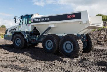 Terex Trucks' TA300 on display at Plantworx