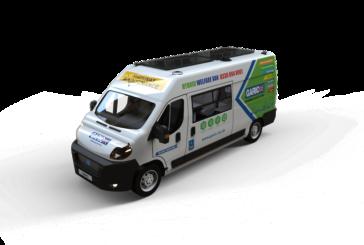 Garic launches hybrid welfare van at Plantworx and Railworx 2019