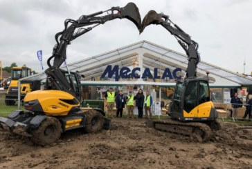Mecalac wins 'best live demonstration' at Plantworx 2019