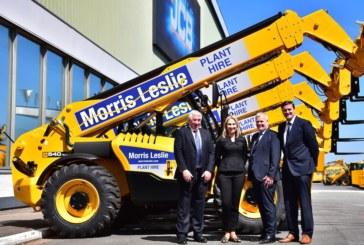JCB secures biggest ever loadall order from Morris Leslie
