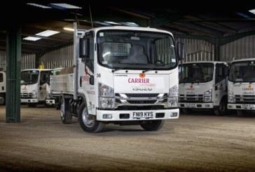 Isuzu's 1,000th Driveaway truck starts work at Carrier Landscapes