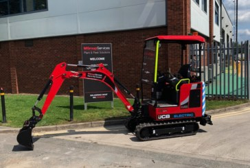 M Group Services expands plant offering with breakthrough JCB electric excavators