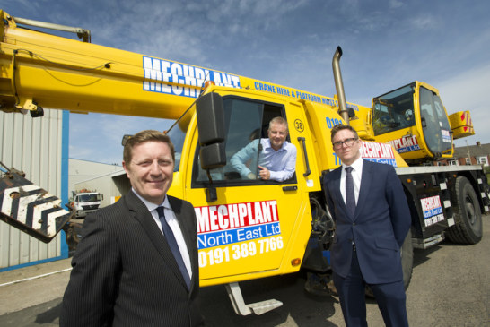 Mechplant expands with support from Yorkshire Bank