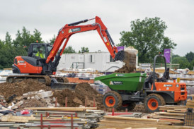 Agetur UK take delivery of Kubota and Ausa equipment