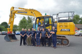 Newcastle and Stafford Colleges Group invest in a Komatsu excavator for their apprentices