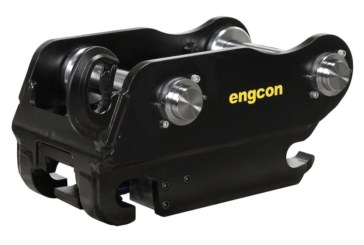 Engcon raising the safety bar, switching entirely to Q-Safe quick hitch