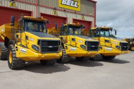 Purchase of 14 additional E-series ADTs furthers relationship between Chepstow Plant and Bell