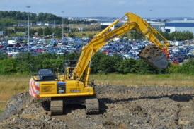 Wordsworth Excavations are the first in Europe to receive the new Komatsu intelligent machine control excavator