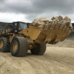 Hanson Aggregates invests in UK's first CAT 986K Wheel Loader