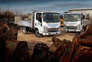 Civilised start for Isuzu Grafters in the A&V Squires fleet