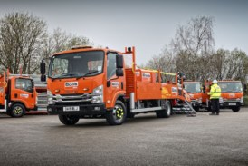 Isuzu handle the heavier equipment for Boels Rental with ease