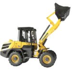 The Yanmar V80 compact wheel loader: fewer emissions, more power