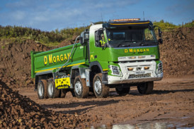 A fleet of 32 new Volvo trucks are better by design for D Morgan plc