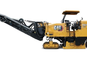 Enhancements to the Caterpillar half-lane cold planers improve operation and service