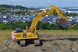 Wordsworth Excavations first in Europe to receive new Komatsu intelligent machine control excavator
