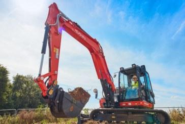 Kubota unveils new KX080-4a2 midi excavator