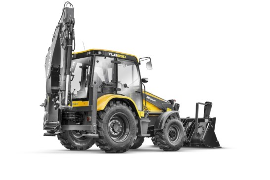 Mecalac celebrates 60th anniversary of the backhoe loader