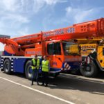 MGA Crane Hire Ltd takes delivery of first new Liebherr crane