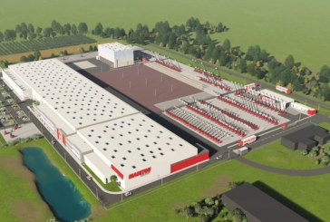 First stone laid at new Manitou platform factory