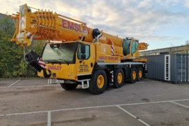 Emsley Crane Hire to take delivery of latest in four-crane order from Liebherr