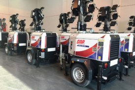 GAP Hire Solutions go for more Trime X-ECO LED Lighting Towers