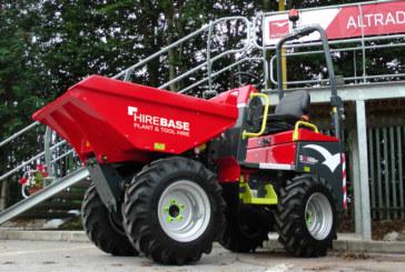 Hirebase invests in the Altrad Belle DX1000HT high tip dumper