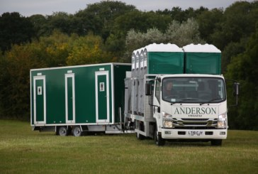Isuzu is flushed with success at John Anderson Hire