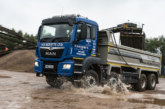 H.D. Ricketts boost their fleet with new MAN TGS 35.420 8X4 BB