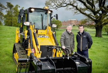 JCB digs deep to support armed forces' rehab centre